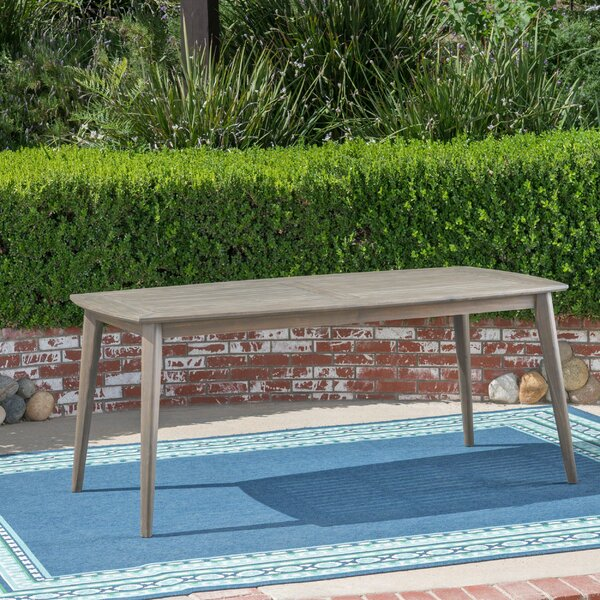 Oxendine Solid Wood Dining Table By George Oliver by George Oliver Amazing
