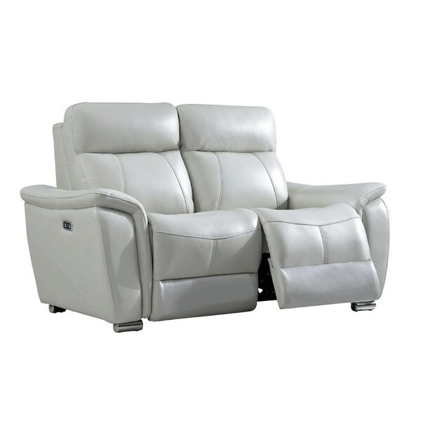 Kulle Reclining Loveseat by Orren Ellis