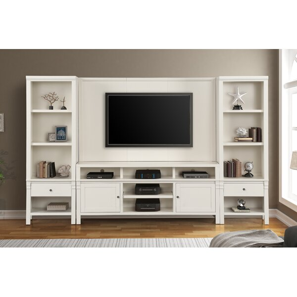 Leota Solid Wood Entertainment Center For TVs Up To 75