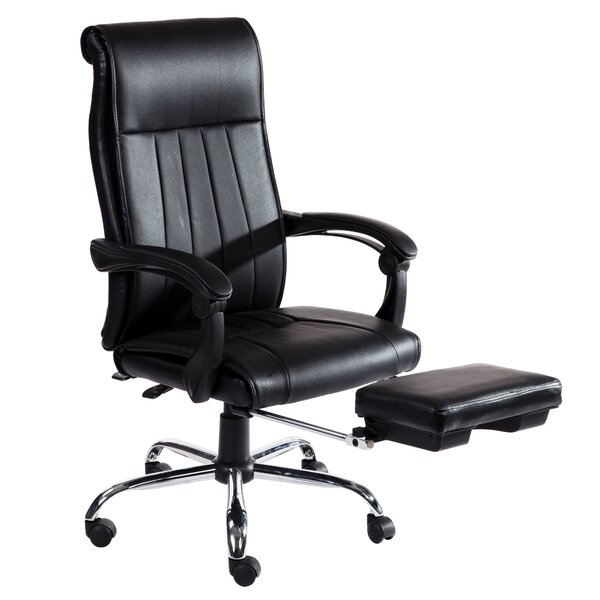 Lyla High Back Reclining Office Chair by Winston Porter