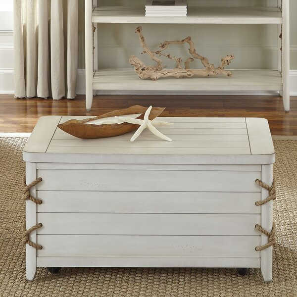 Marysville Storage Trunk Coffee Table by Beachcrest Home
