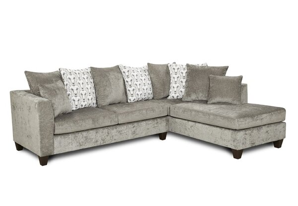 Thacker Modular Right Hand Facing Sectional By Winston Porter New