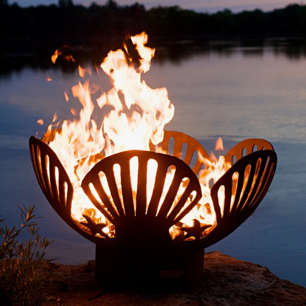 Barefoot Beach Fire Pit by Fire Pit Art