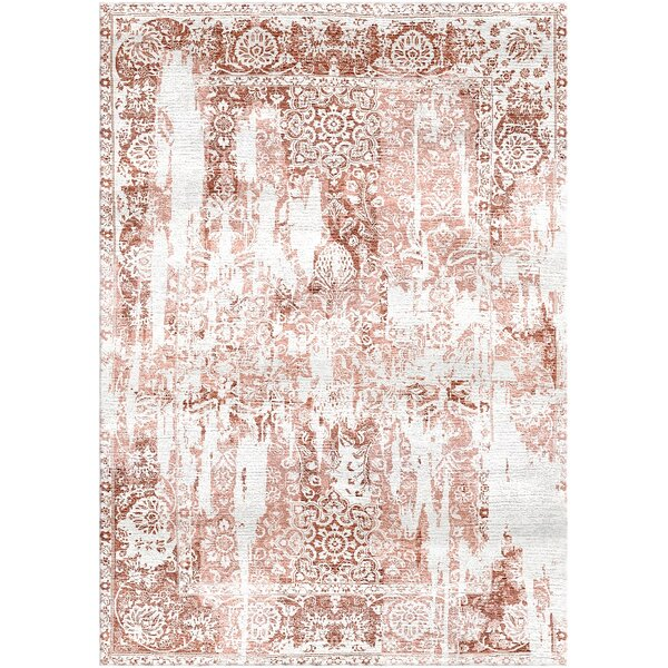 Aliza Handloom Brown/Ivory Area Rug by Bungalow Rose