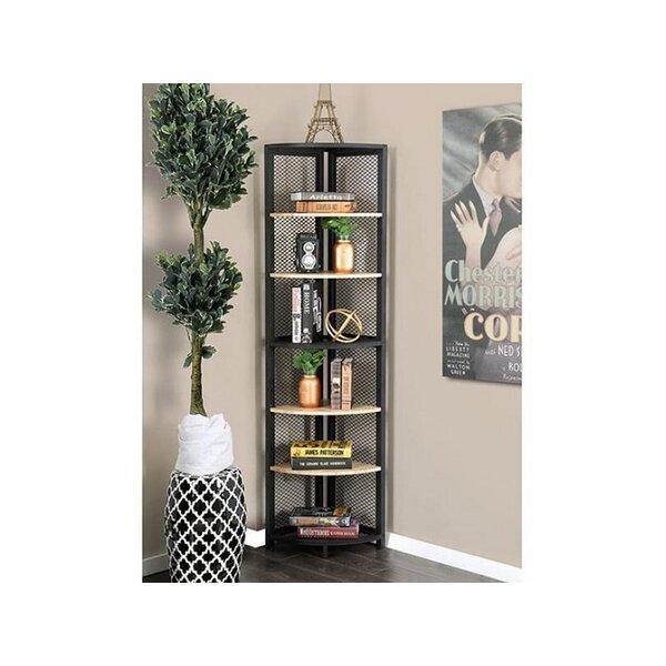 Moskowitz Corner Bookcase by Williston Forge