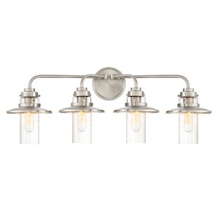 Compare & Buy Quinault 4-Light Vanity Light By Breakwater Bay