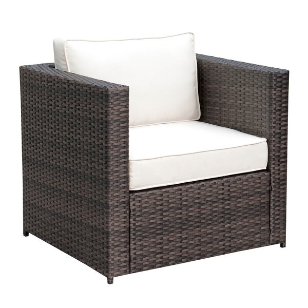 Lesher Patio Chair with Cushions by Breakwater Bay Breakwater Bay