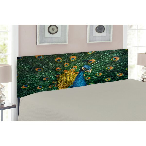 Peacock Upholstered Panel Headboard By East Urban Home