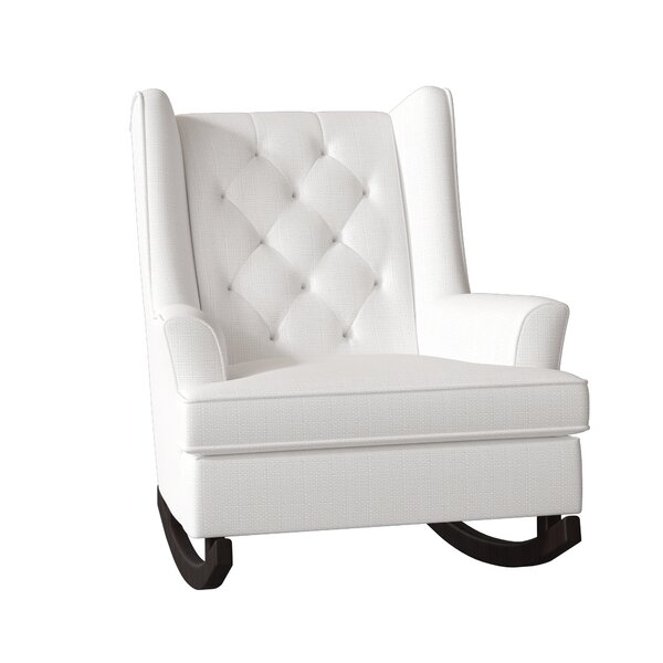 Snowden Wingback Rocking Chair