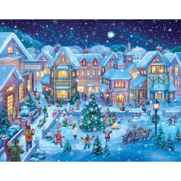 Holiday Village Square Advent Calendar by The Holiday Aisle