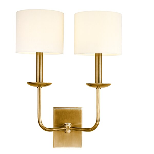 Darius 2-Light Wall Sconce by Corrigan Studio