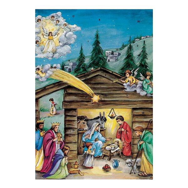 Korsch Nativity Scene Advent Calendar by Alexander Taron