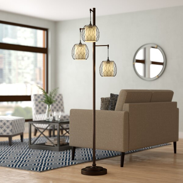 Dunkle 72 Tree Floor Lamp by Brayden Studio