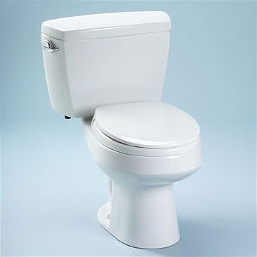 Carusoe Round Toilet by Toto