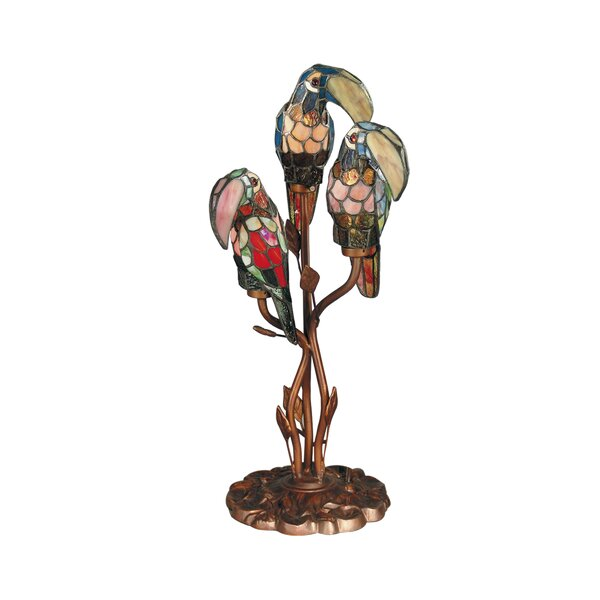 Bessie Parrot 23.5 Table Lamp by Bay Isle Home