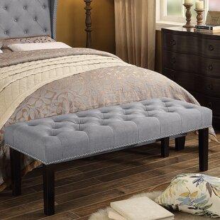 Almaraz Upholstered Bench by Three Posts