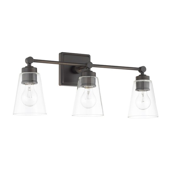Gallego 3-Light Vanity Light by Three Posts