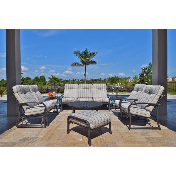 Terrabay 8 Piece Sunbrella Sofa Set with Cushions by Outdoor Masterpiece