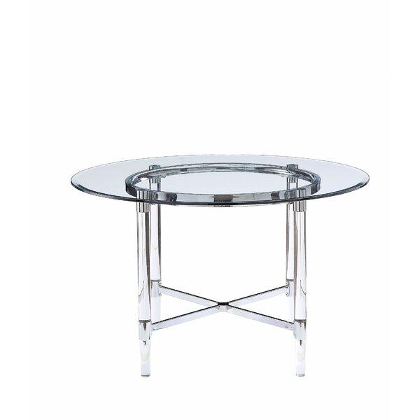 Prestley Dining Table by Orren Ellis Orren Ellis