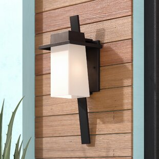 Shop For Fleming 1-Light Outdoor Sconce By World Menagerie