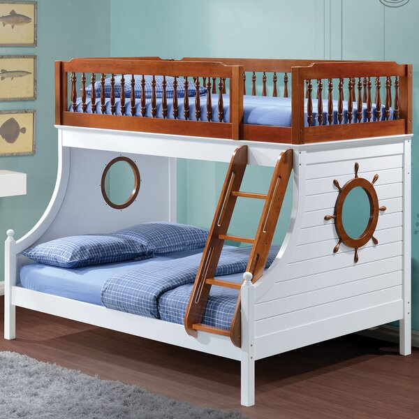 Greggory Twin Over Full Bunk Bed by Harriet Bee