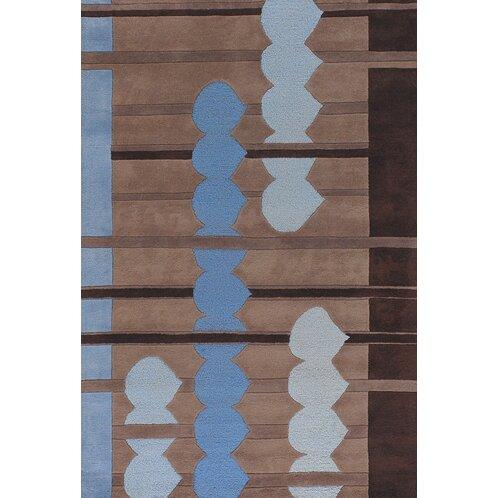 Melynnie Blue/brown Area Rug By Orren Ellis.