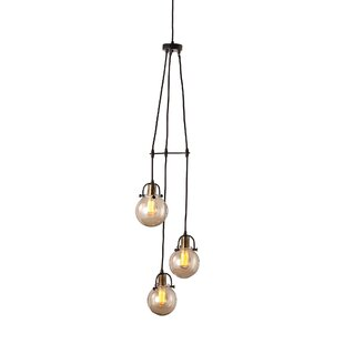Best Price Maxen 3 Light Cluster Pendant By Williston Forge