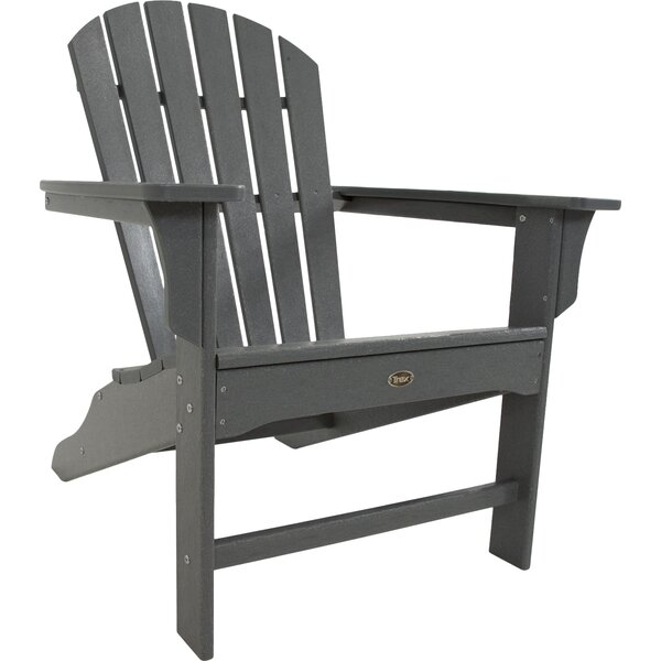 Cape Cod Plastic Adirondack Chair by Trex Outdoor