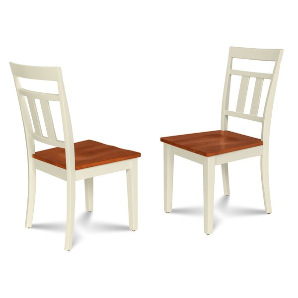 Dahle Solid Wood Dining Chair (Set of 2) by August Grove