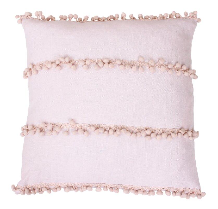 Rahma Pom Pom Throw Pillow