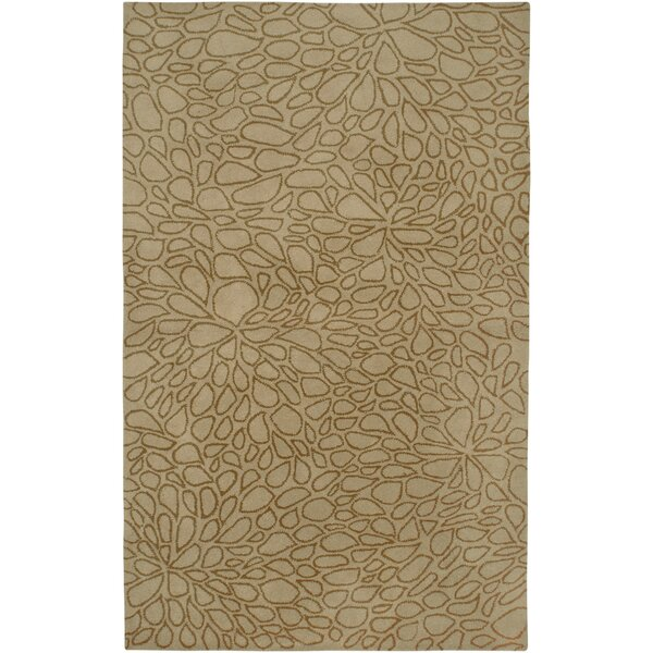 Anna Redmond Hand-Tifted wool Light Gold Area Rug by Rizzy Rugs