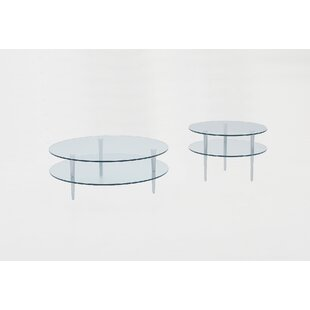 Saturn 2 Piece Coffee Table Set By Focus One Home