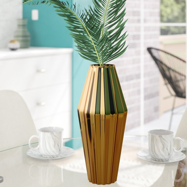 Milos Large Ceramic Vase by DwellStudio