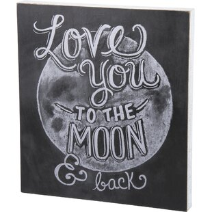 To The Moon Wall Décor