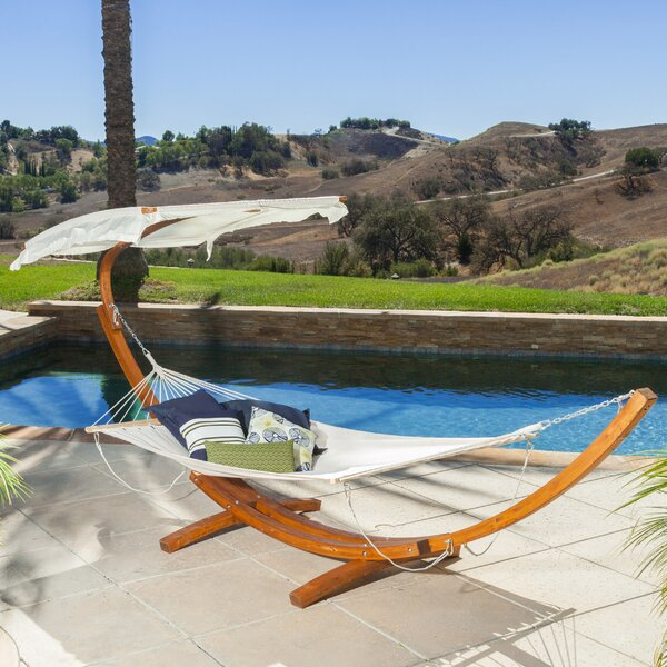 Donegan Hammock with Stand by Rosecliff Heights