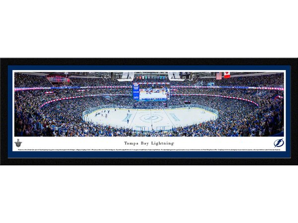 NHL Tampa Bay Lightning by Christopher Gjevre Framed Photographic Print by Blakeway Worldwide Panoramas, Inc