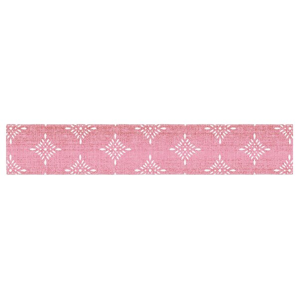 Suzie Tremel Medallion Ombre Table Runner by East Urban Home