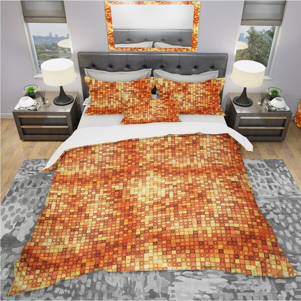 Bohemian and Eclectic Duvet Cover Set by East Urban Home