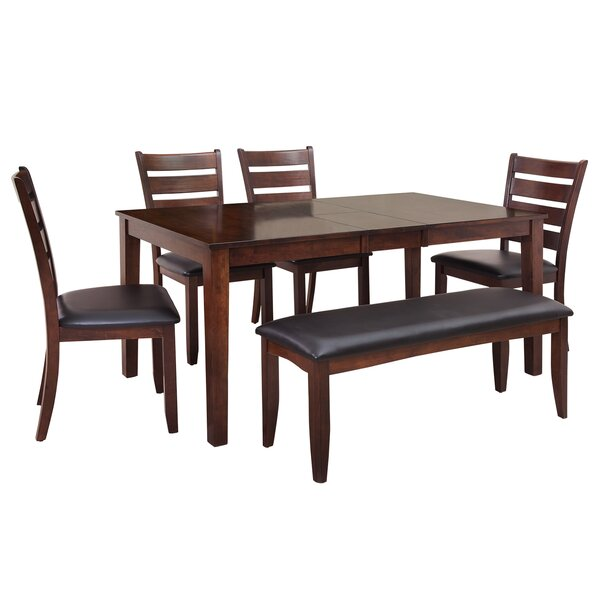 Boswell 6 Piece Dining Set by TTP Furnish