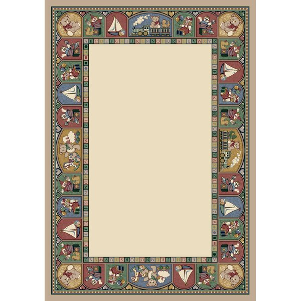 Signature Toy Parade Pearl Mist Area Rug by Milliken