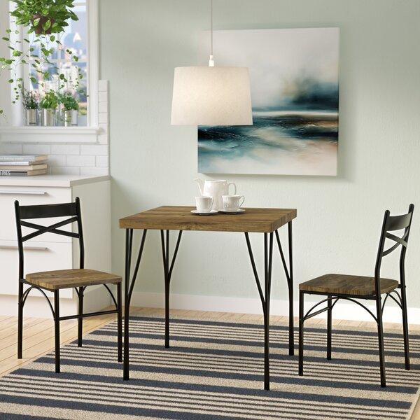 Bedfo 3 Piece Dining Set by Ebern Designs