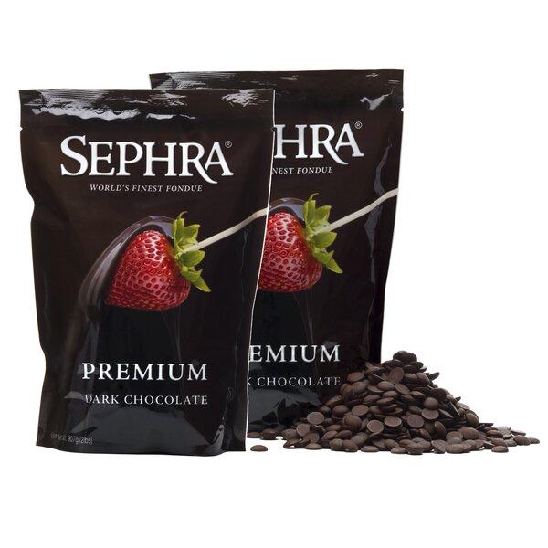 Premium Dark Fondue Chocolate By Sephra.