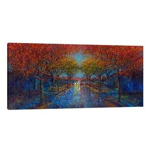 Symmetry Street by Iris Scott Painting Print on Wrapped Canvas by Jaxson Rea