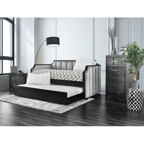 Monahan Twin XL Daybed with Trundle by Rosdorf Park
