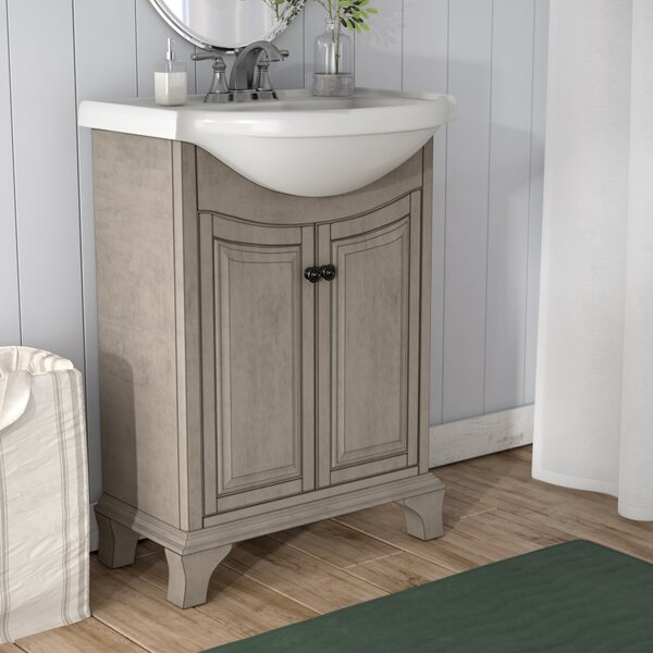 Athens 26 Single Bathroom Vanity Set by Three Post