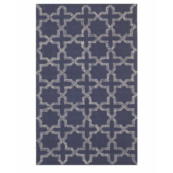 Northgate Hand-Tufted Blue Area Rug by Red Barrel Studio
