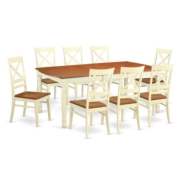 Carmel 9 Piece Dining Set by August Grove August Grove