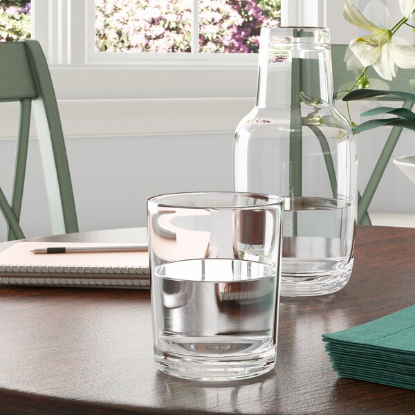 Classic Glassware Nightstand Carafe by Birch Lane™
