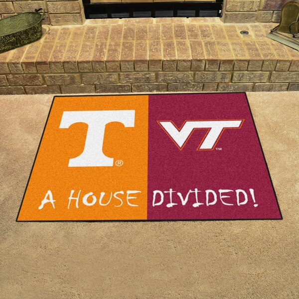 House Divided - Tennessee / Virginia Tech Doormat by FANMATS