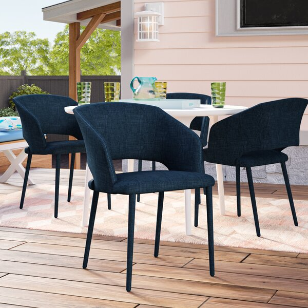 Mariann Patio Dining Chair with Cushion by Ivy Bronx Ivy Bronx